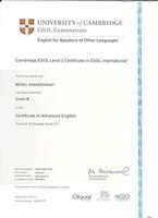 Diploma uitreiking CAE