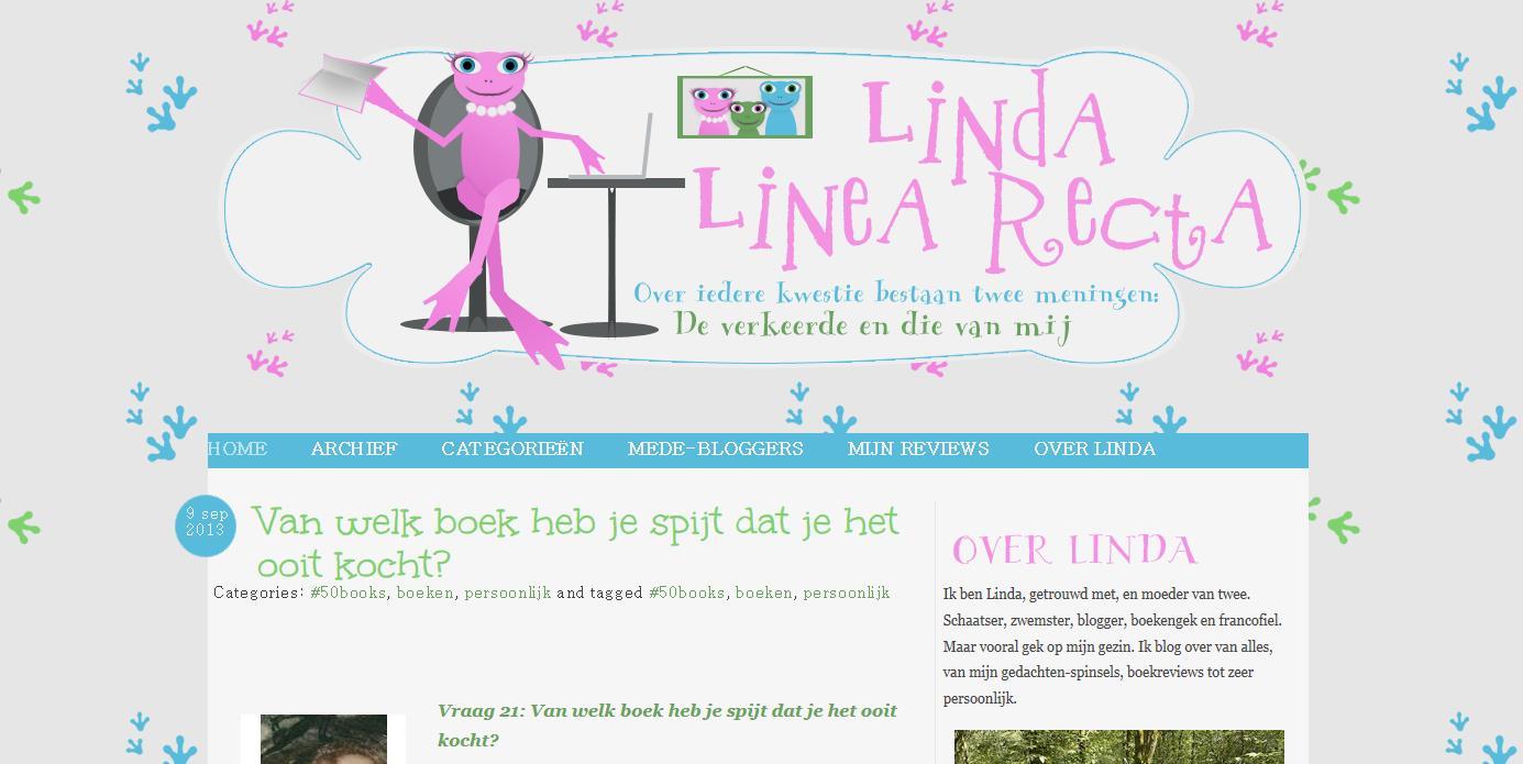 Fier op de nieuwe lay-out van mijn blog!