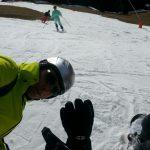 Skiën of Zonnen , wintersport